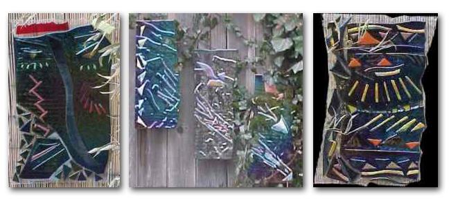 custom stained glass garden art