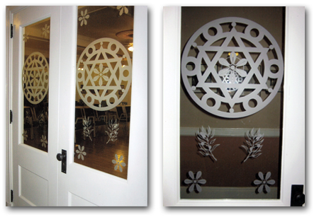 custome stained glass doors and entryways